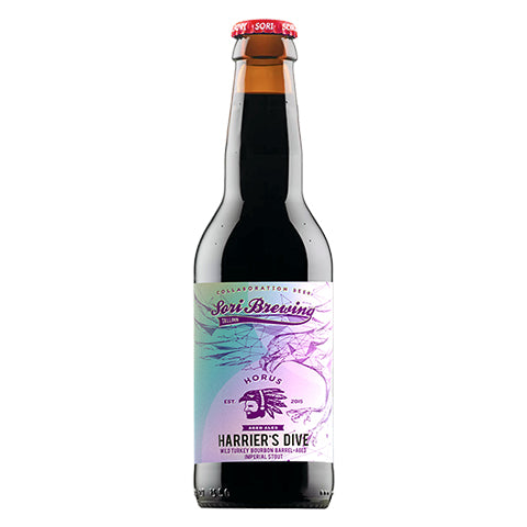 Sori Brewing Harrier's Dive (Wild Turkey BA) Imperial Stout