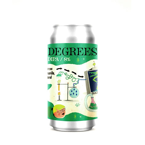 Verdant collab. DEYA Degrees: Double New England IPA