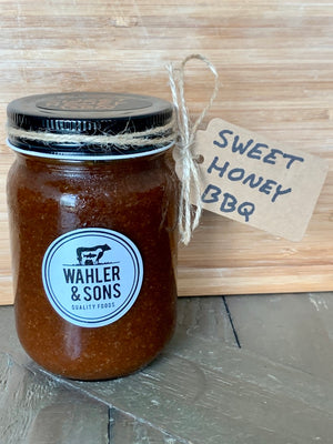 Load image into Gallery viewer, Chef Josh's SWEET HONEY BBQ Sauce - 12 oz jar