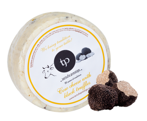Grass-Fed Truffle Cow Milk Cheese - Approximately 14 oz