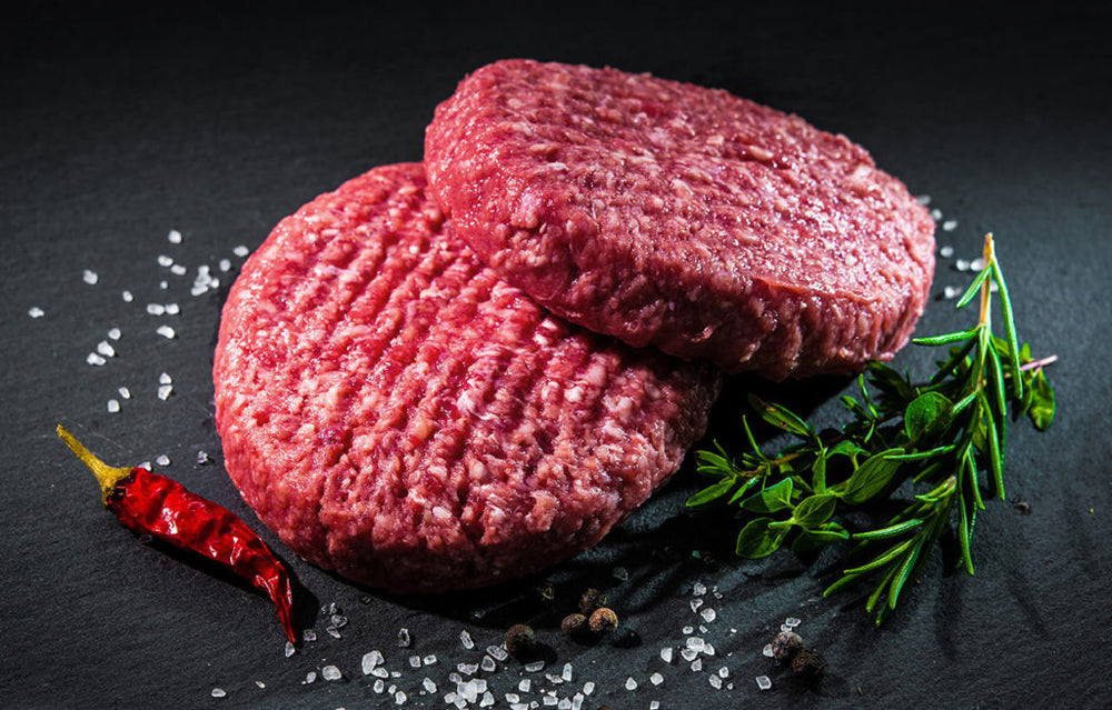 Wagyu Burgers - 4 Per Pack, 8 oz Each