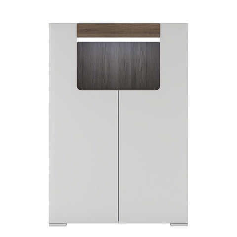 Toronto Range- Low 2 Door cabinet with open shelf (inc Plexi Lighting)