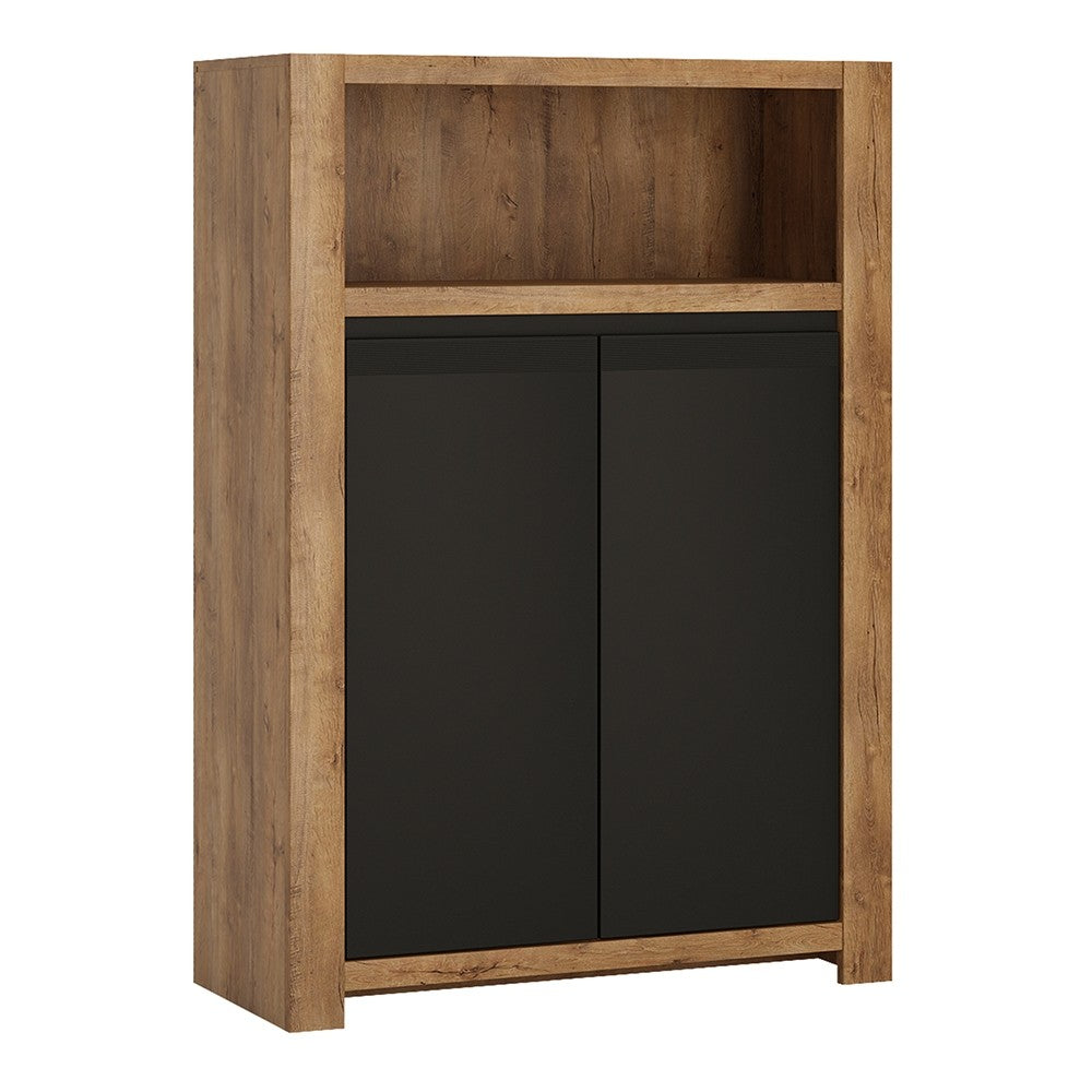 Havana Range- 2 door cupboard with open shelf