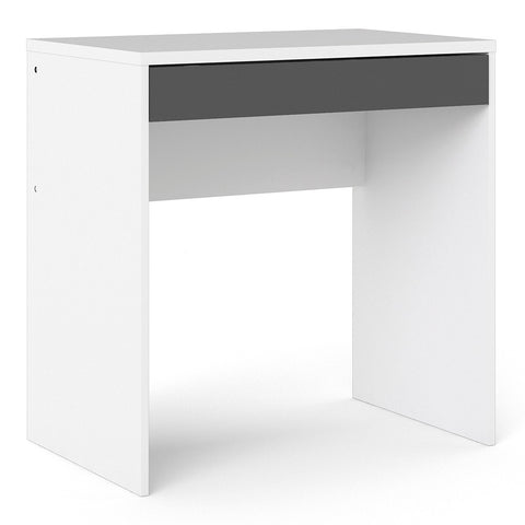 Function Plus Range- Function Plus Desk White Grey White Grey