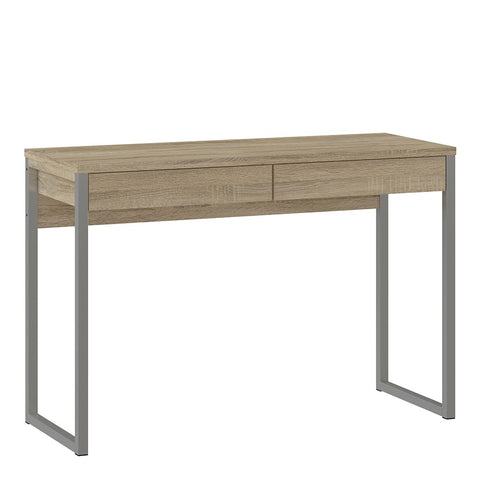 Function Plus Range- Desk 2 Drawers in Oak