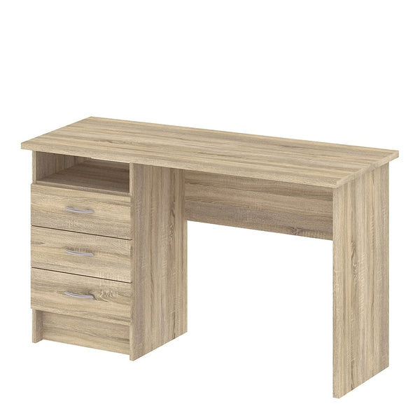 Function Plus Range- Desk 3 Drawers in Oak