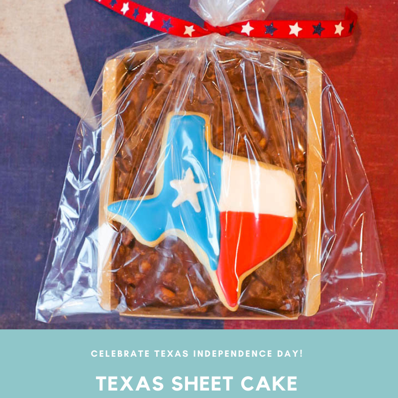 Texas Sheet Cake- FREE Austin Delivery