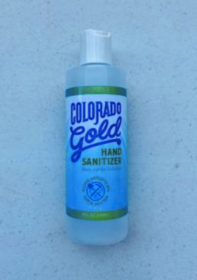 Colorado Gold Hand Sanitizer 8 oz.