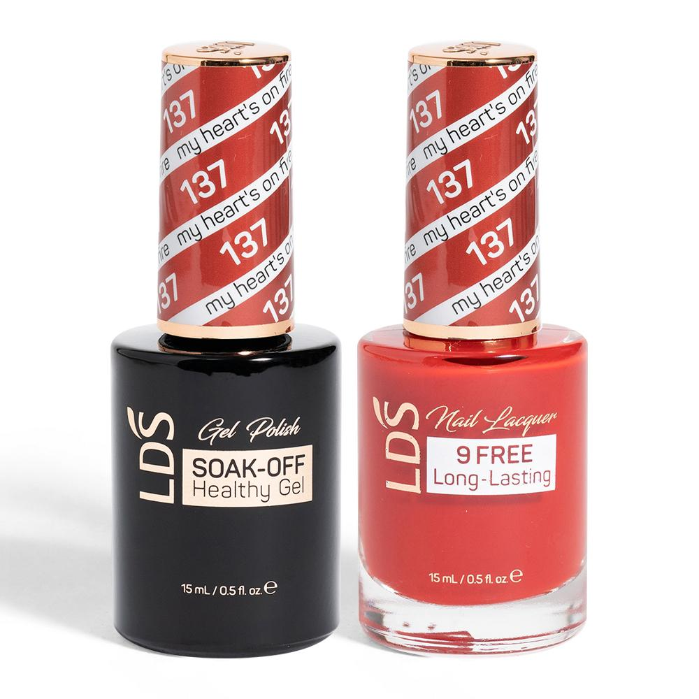 LDS Gel Lacquer Christmas Collection: 13, 137, 138, 139, 140, 141, 144, 145