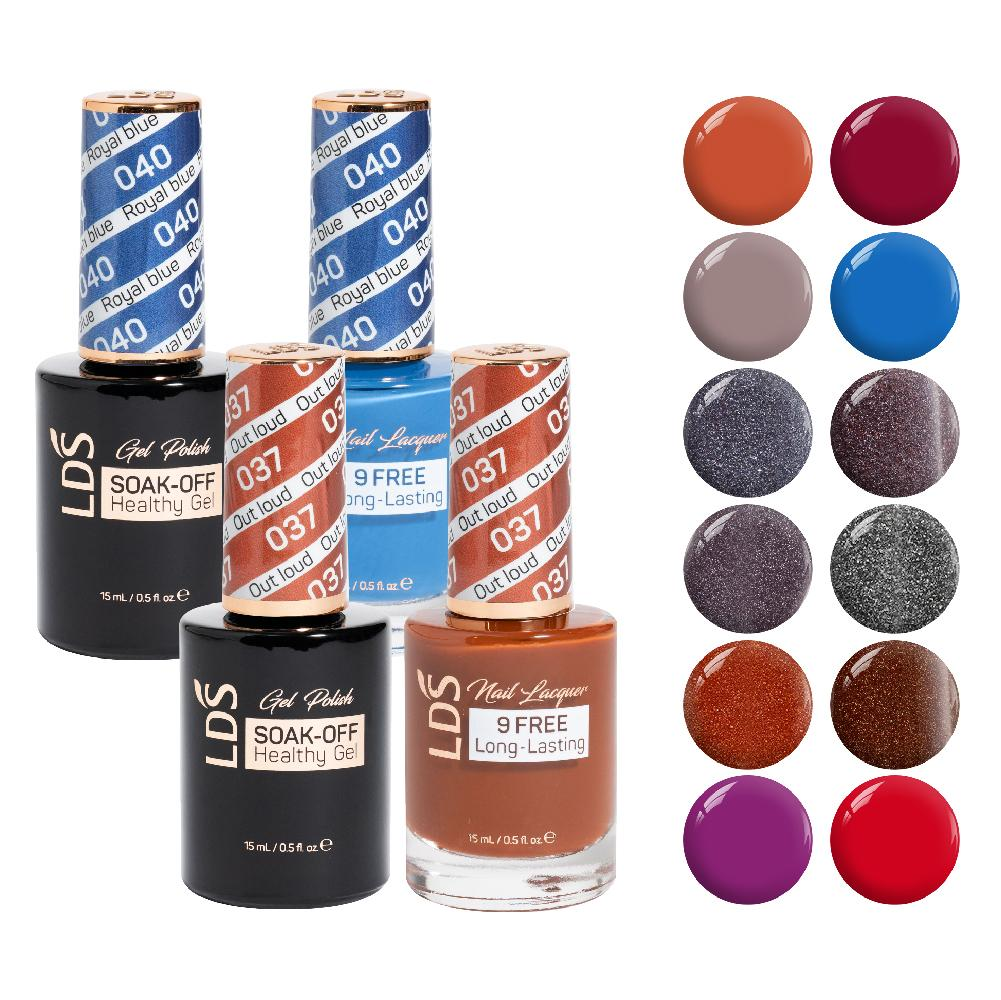 LDS Gel Lacquer Fall Collection: 37, 38, 39, 40, 41, 42, 43, 44, 45, 46, 47, 48
