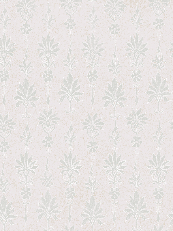 The Maker Palmette Wallpaper in Blush