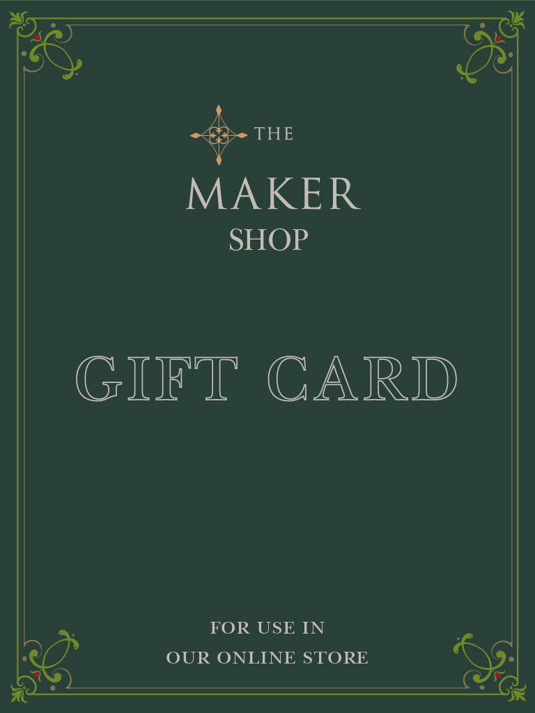 The Maker Shop Gift Card