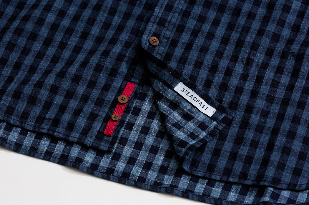 Check Shirt / Navy Gingham