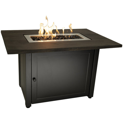 Image of Endless Summer The Marc, 40 x 28 Rectangular Gas Outdoor Fire Pit GAD17107ES