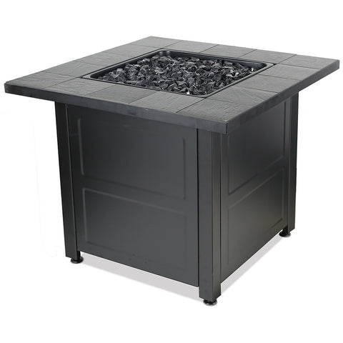 Endless Summer LP Gas Outdoor Fire Table W/ Stamped Tile Design GAD1499M