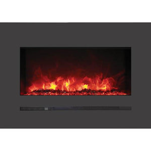 Sierra Flame Linear Series Electric Fireplace WM-FML-STL