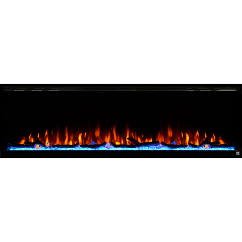 Touchstone Sideline Elite Series Black Electric Fireplaces