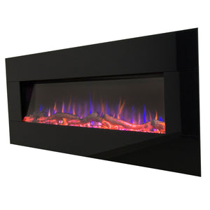 "Touchstone AudioFlare Black Glass 50"" 80035"