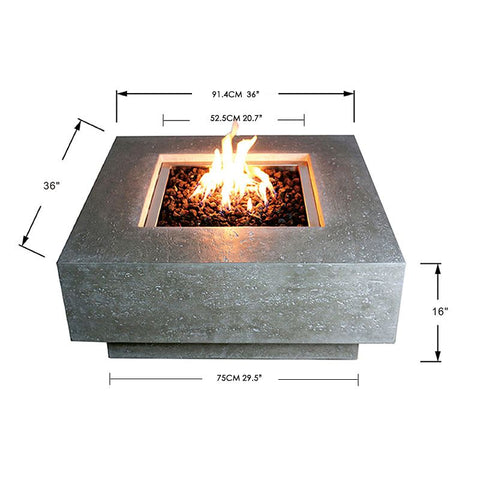 Image of Elementi Manhattan Fire Table OFG103