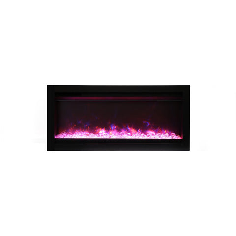 Image of Amantii Symmetry Series Electric Fireplace