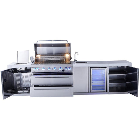 Image of Mont Alpi 805 Deluxe Island With Beverage Centre MAi805-DBEV