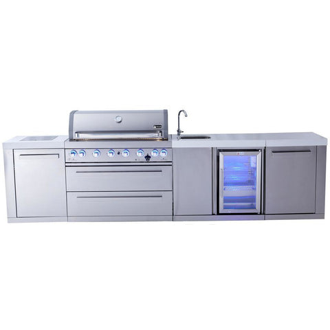 Image of Mont Alpi 805 Island With Beverage Centre MAi805-BEV