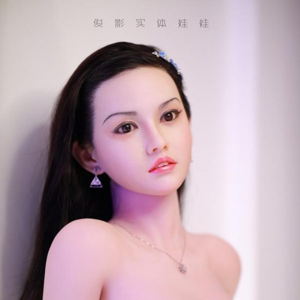 silicome sex doll head  and tpe sex doll body