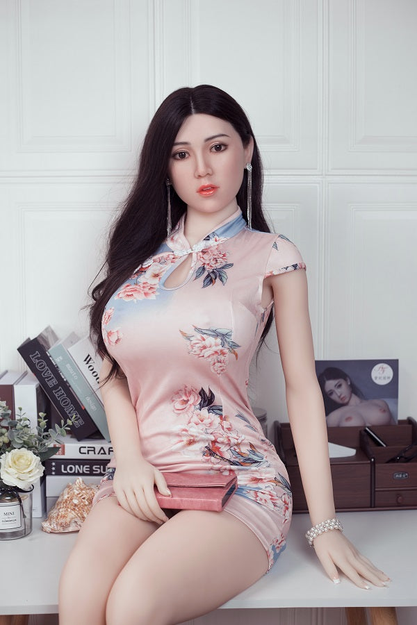 silicone sex doll head and TPE sex doll body