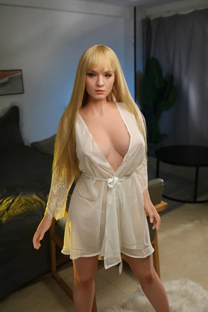 156cm European and American mid-chested and long-legged sex doll---Queria - realdollshops.com