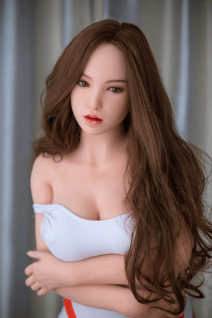 162cm(28kg)big booty Sex Doll with Brown hair-Jenna - lovedollshop