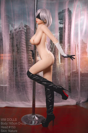 2B Sex Doll WM 165cm D cup | Cosplay Anime Doll big breast - lovedollshop