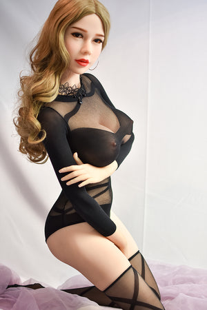 6YE 165cm  F cup big boobs blonde sex doll Manda