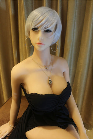 AF doll 165cm small breast real sex doll Hedwig