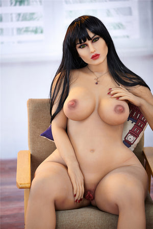 Irontech 156cm red busty sex doll Monika