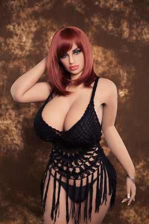 AF 162cm fat huge boobs tpe curvy and muture sex doll-Misier - lovedollshops.com