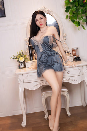AF 164cm C Cup Asian Face Medium Breasts sex doll-Keqing - lovedollshops.com