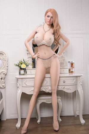 AF 170cm European and American faces E cup big breasts fat and tall curvy sex doll-Qitaria - lovedollshops.com