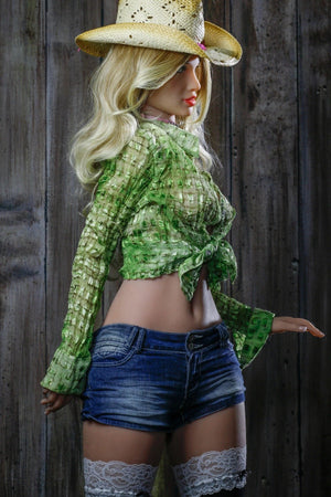 AS 168cm Small Waist Realistic Female Sex Doll for Men Aminata - realdollshops.com