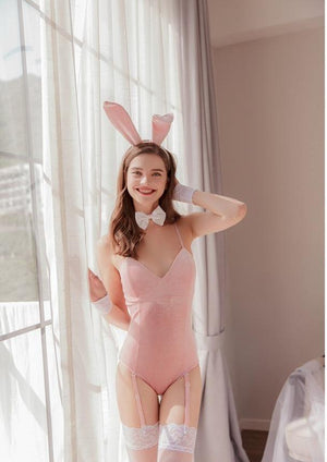 Bunny girl luxury lingerie for sex doll - realdollshops.com