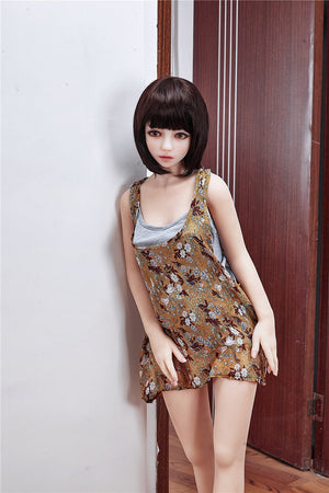 Irontech 145cm short hair petite sex doll Posy - lovedollshop