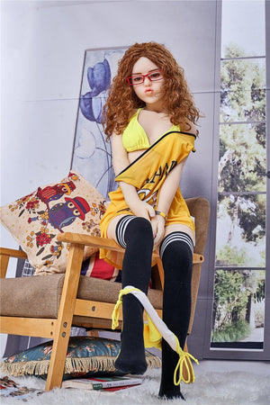 Irontech 145cm yellow sport girl sex doll Nancy - lovedollshop