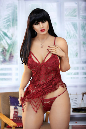 Irontech 156cm red busty sex doll Monika - lovedollshop