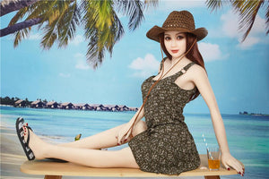 Irontech 157cm medium breast beach sex doll Xiu - lovedollshop