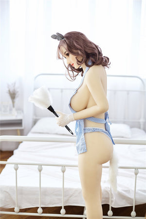 Irontech 157cm pure maid sex doll Vera - lovedollshop
