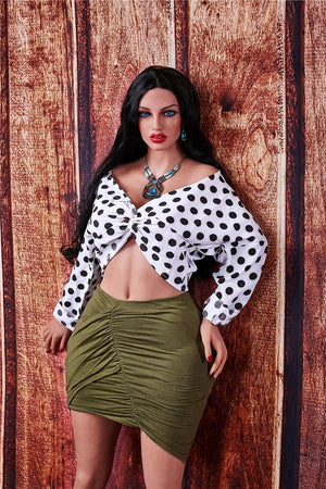 Irontech 160cm fat chubby sex doll Anya - lovedollshop