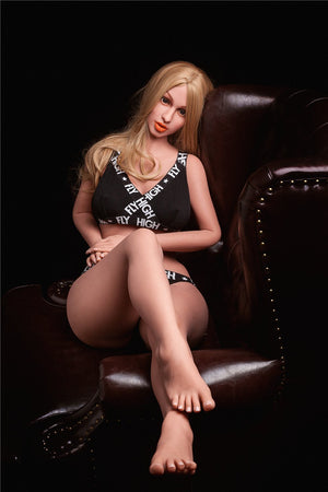 Irontech 160cm sports blonde sex doll Anna - lovedollshop