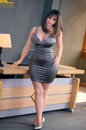 Irontech 161cm Asian Pure Mature Full Size TPE Big Boobs Adult Sex Doll Miki - lovedollshops.com