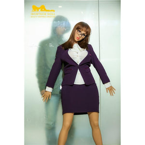 Irontech 170cm big breasts mature office lady sex doll Qity - lovedollshops.com
