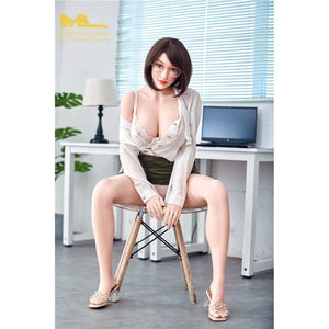 Irontech159cm Big Breast Office Lady Rounded Sex Doll-Heriy - lovedollshops.com