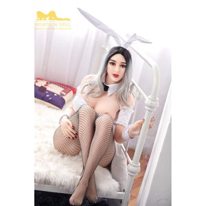 Irontech159cm big breasts, white hair and fat sex sexy doll-Rizar - lovedollshops.com